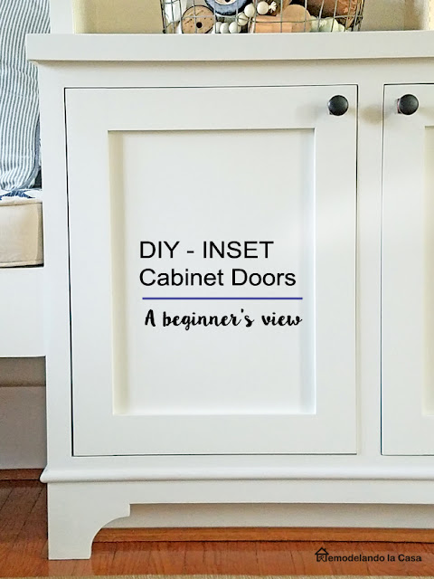A rookie way to build inset cabinet doors