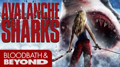 Avalanche Sharks (2014) Hindi 300mB Dual Audio Full Movies BluRay
