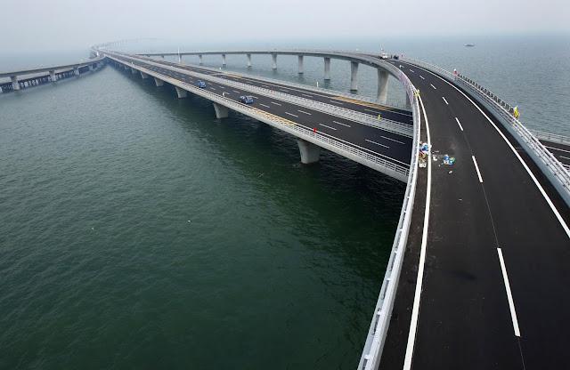 Weinan Weihe Grand Bridge - jembatan terpanjang di indonesia