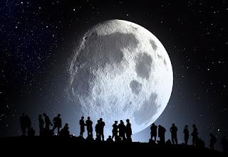 تقلص القمر قد يكون توليد للزلازل