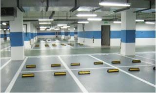 Lantai Parkir Epoxy Flooring
