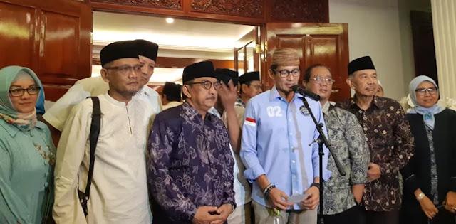 Dengan Dukungan Keluarga Pendiri NU, Prabowo-Sandi Bakal Peroleh Kemenangan Pilpres
