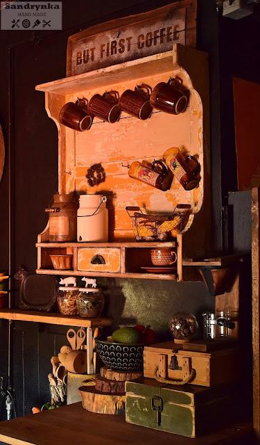 Musztardowy Odrapaniec – czyli nowa półka w mojej kuchni…