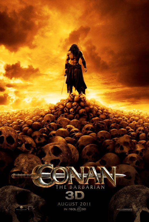 Conan the Barbarian 2011 movie poster