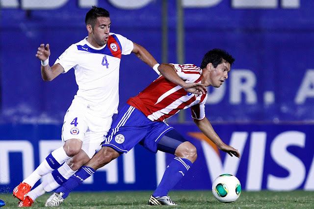 Paraguay y Chile en Clasificatorias a Brasil 2014, 7 de junio de 2013