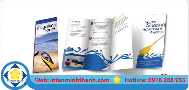 in brochure chất lượng cao