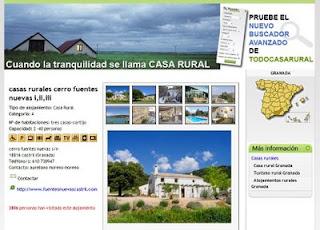 Información sobre casas rurales en España
