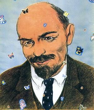 Добрый дедушка Ленин