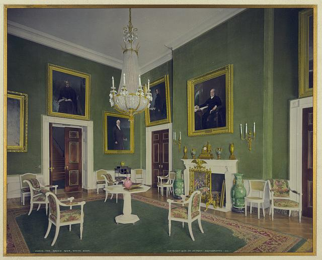 The Devoted Classicist White House Green Room Through