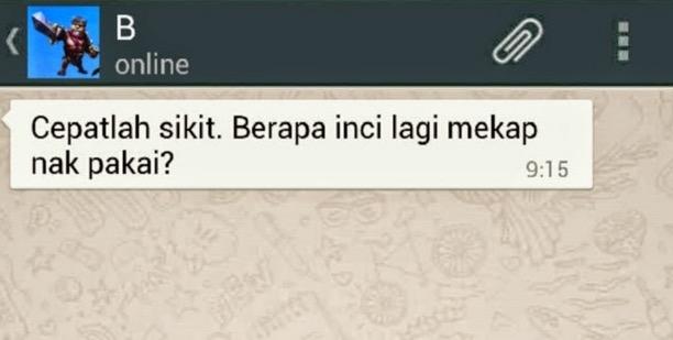 Mesej Whatsapp Semasa Bercinta Vs Selepas Berkahwin
