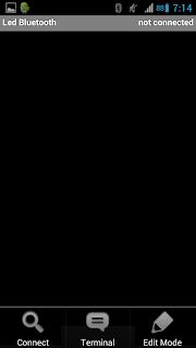 Microcontroler BT - Edit mode