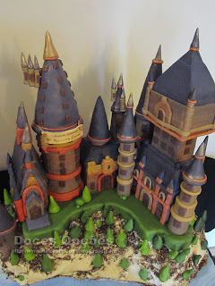bolo castelo Harry Potter