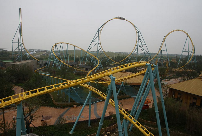 Newsplusnotes Unique Intamin Launched Coaster Blasts Off In China