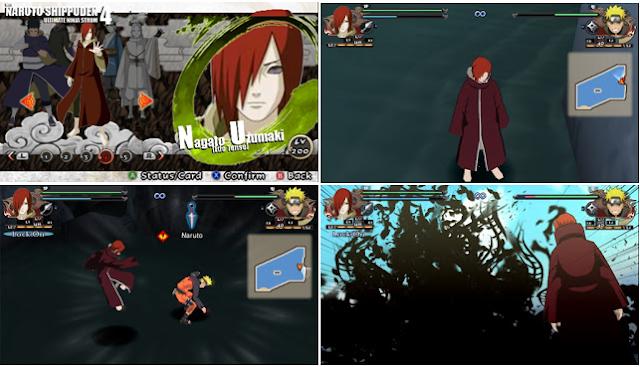 Naruto Shippuden : Ultimate Ninja Impact  MOD Texture Nagato Pain [Nagato Edo Tense] For PPSSPP Terbaru