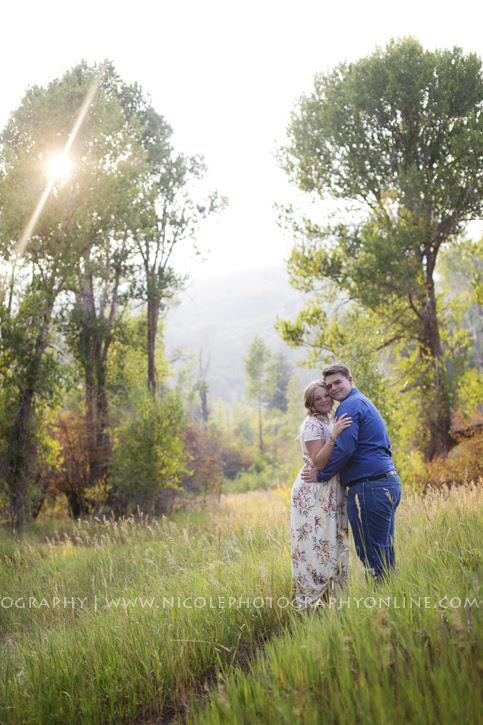 Tyler and Maddie's Engagement Pics- Snowbasin