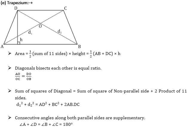 चतुर्भुज : क्षेत्रफल, फार्मूला, प्रकार, गुण और उदाहरण_220.1
