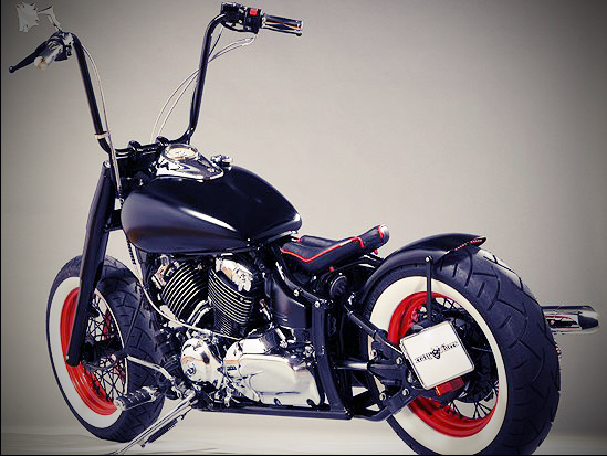 free the wheels xvs650 bobber crazy roger. Black Bedroom Furniture Sets. Home Design Ideas
