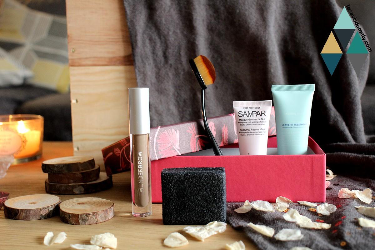 revue beauté blog test et avis produits beauté box Birchbox