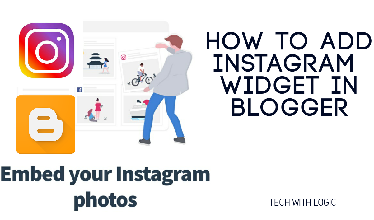 How to add Instagram Widget in Blogger