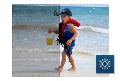 Hasil foto editing dengan menggunakan aplikasi edit foto Perfectly Clear