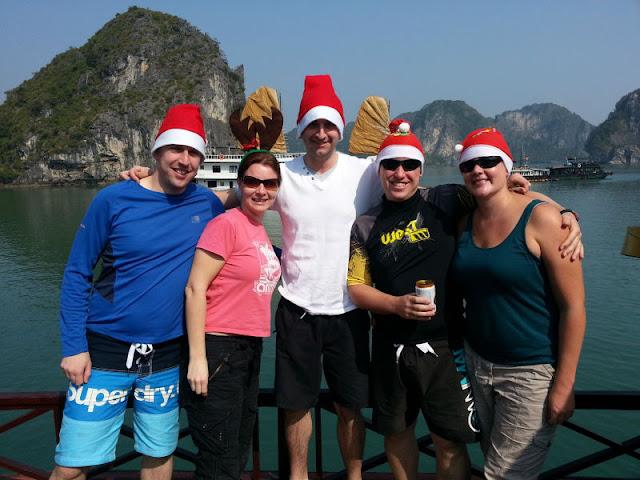 The memorable Christmas experience at Ha Long Bay 1