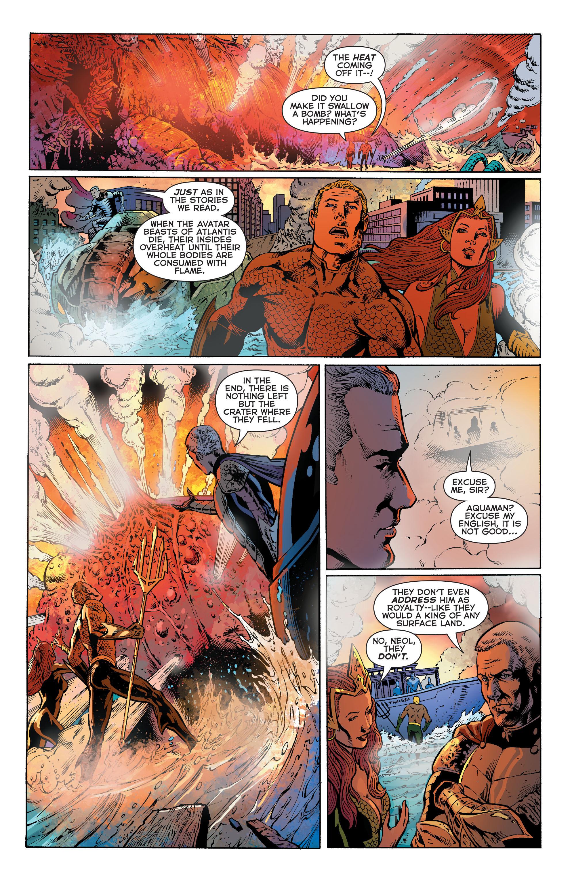 Read online Aquaman (2011) comic -  Issue #27 - 19