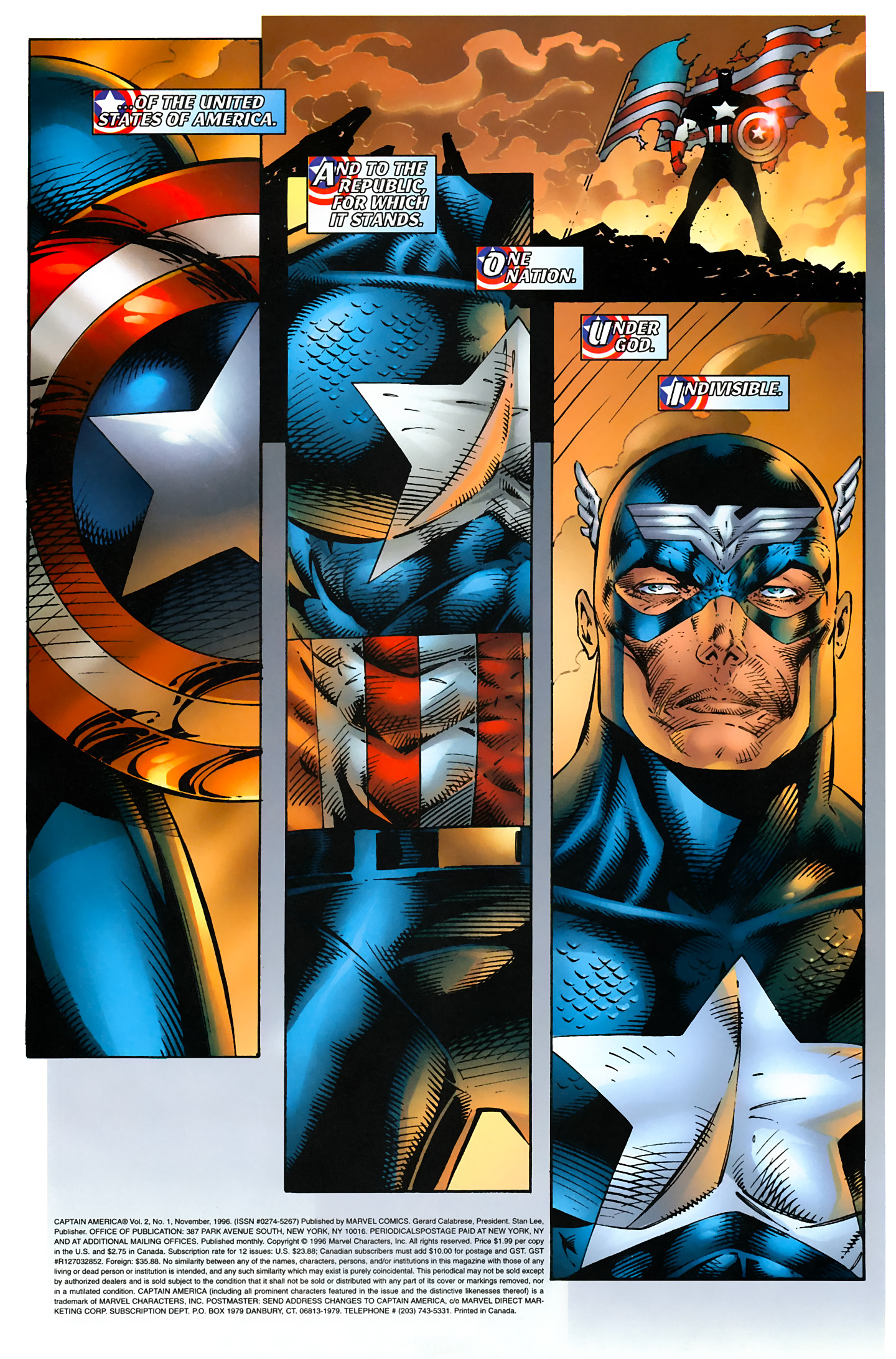 Captain America (1996) Issue #1 #1 - English 4