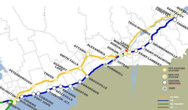Map Of Canada Via Rail.Judgement Day For Via Rail S 4 Billion Debacle