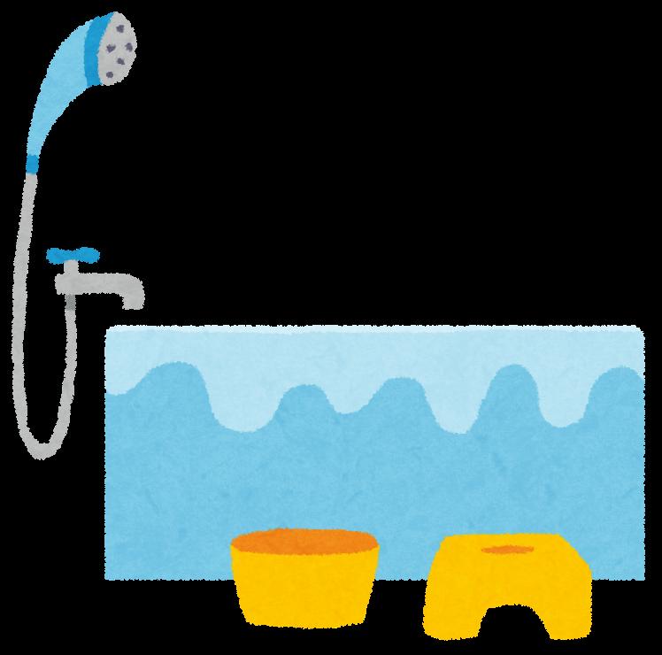お風呂のイラスト | かわいいフリー素材集 いらすとや