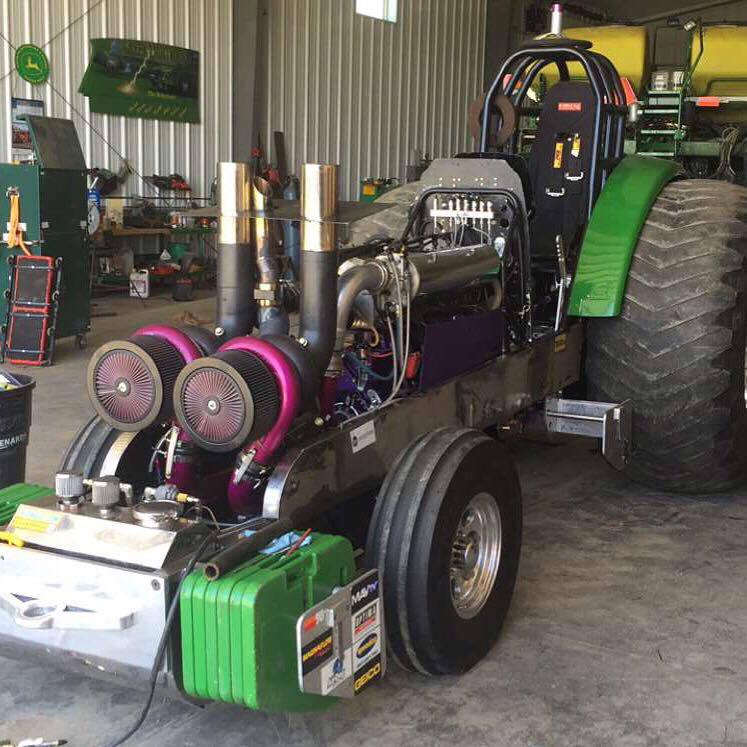 Rursch Pulling Tractor Clutch Parts : Tractor pulling news pullingworld