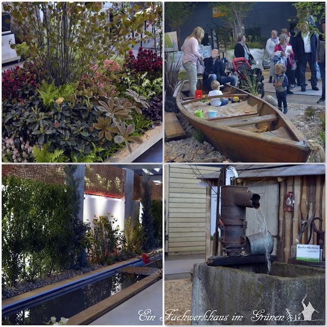 Gartengestaltung, Sandkasten, Boot