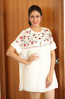 Lavanya Tripathi in Summer Style Spicy Short White Dress at her Interview  Exclusive 210.JPG