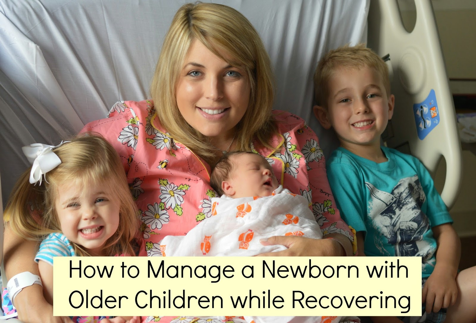How to Manage a Newborn with Older Children while Recovering