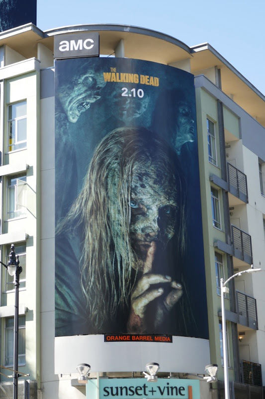 Walking Dead season 9 part 2 Whisperers billboard