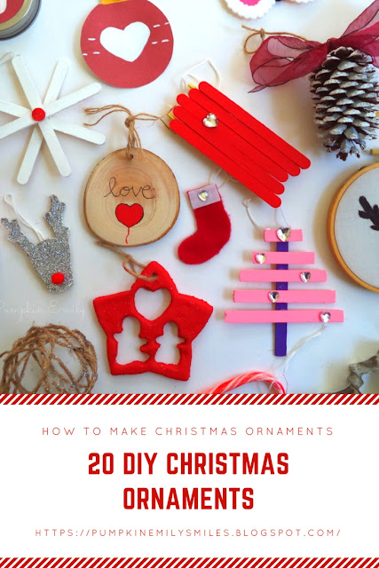 20 DIY Christmas Ornaments How To Make Christmas Ornaments
