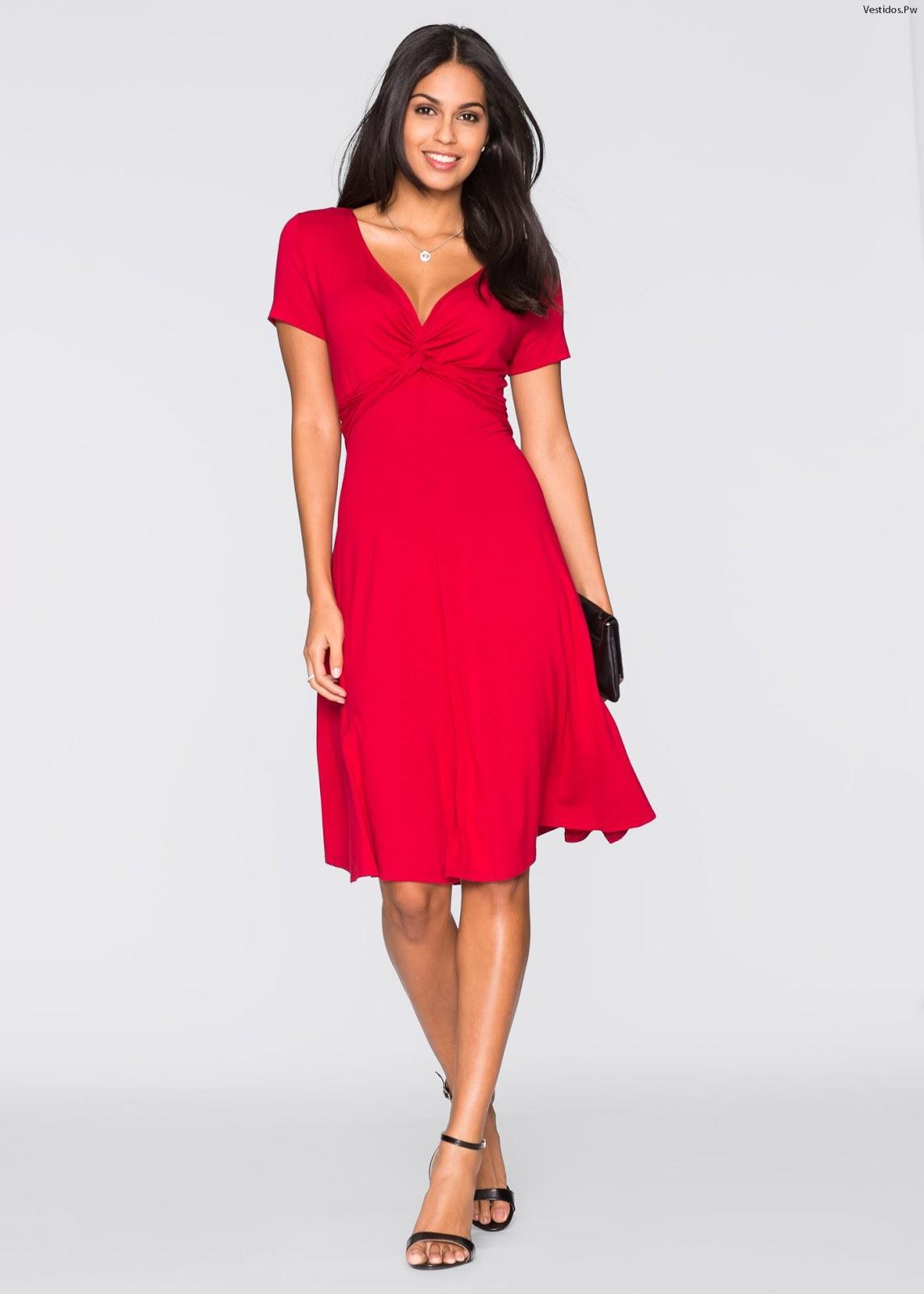 Vestidos para bodas rojos cortos