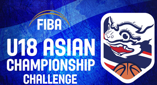GROUP LISTS: FIBA U18 Asian Championship Challenge 2018