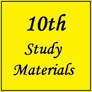SSLC Study Materials - Android App ~ Padasalai No 1 Educational Website