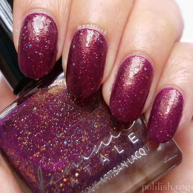 Swatch - Femme Fatale Cosmetics 'Prim and Copper', three coats