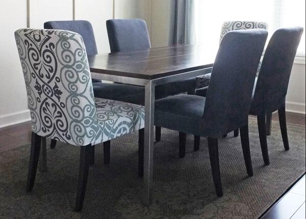 Como utilizar cadeiras diferentes na sala de jantar
