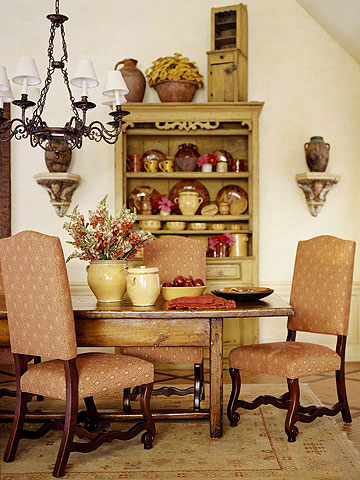 Rustic country french style home appliance - French country home interior ...