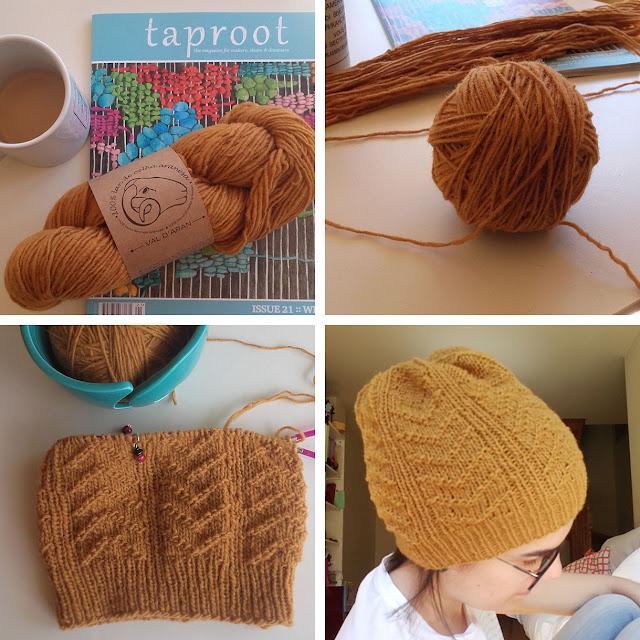 mustard quill hat pattern