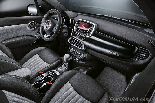 "Fiat 500X ""Black Tie"" Dashboard"