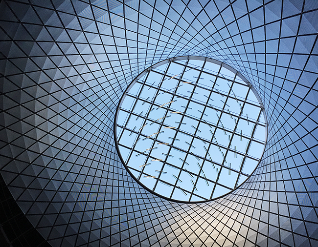 Sky Reflector Net Fulton Center