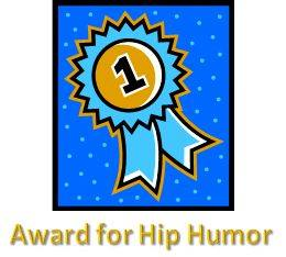 Liza Gets a Humor Award!