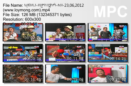 CTN Comedy - Muk Robor Krous Thnak (23.06.2012)
