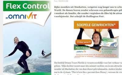 Omnivit Flex Control Surfing Reclame