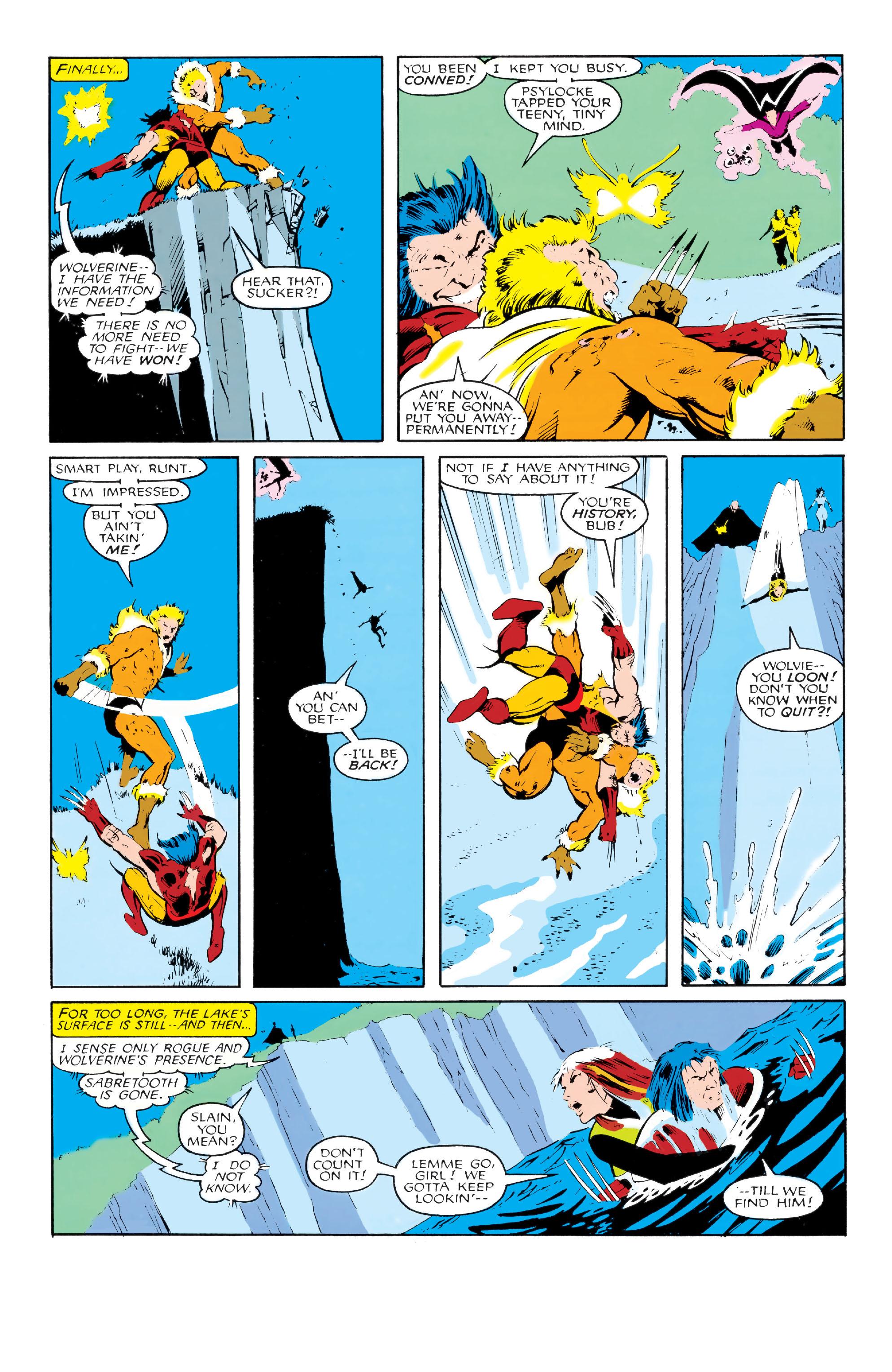 Read online Uncanny X-Men (1963) comic -  Issue #213 - 23