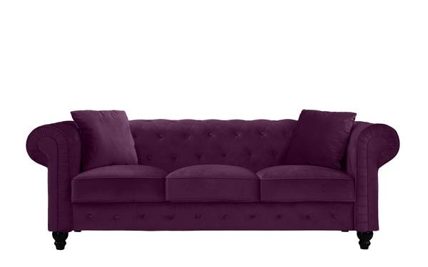 Royal Victorian-Style Velvet Chesterfield Sofa