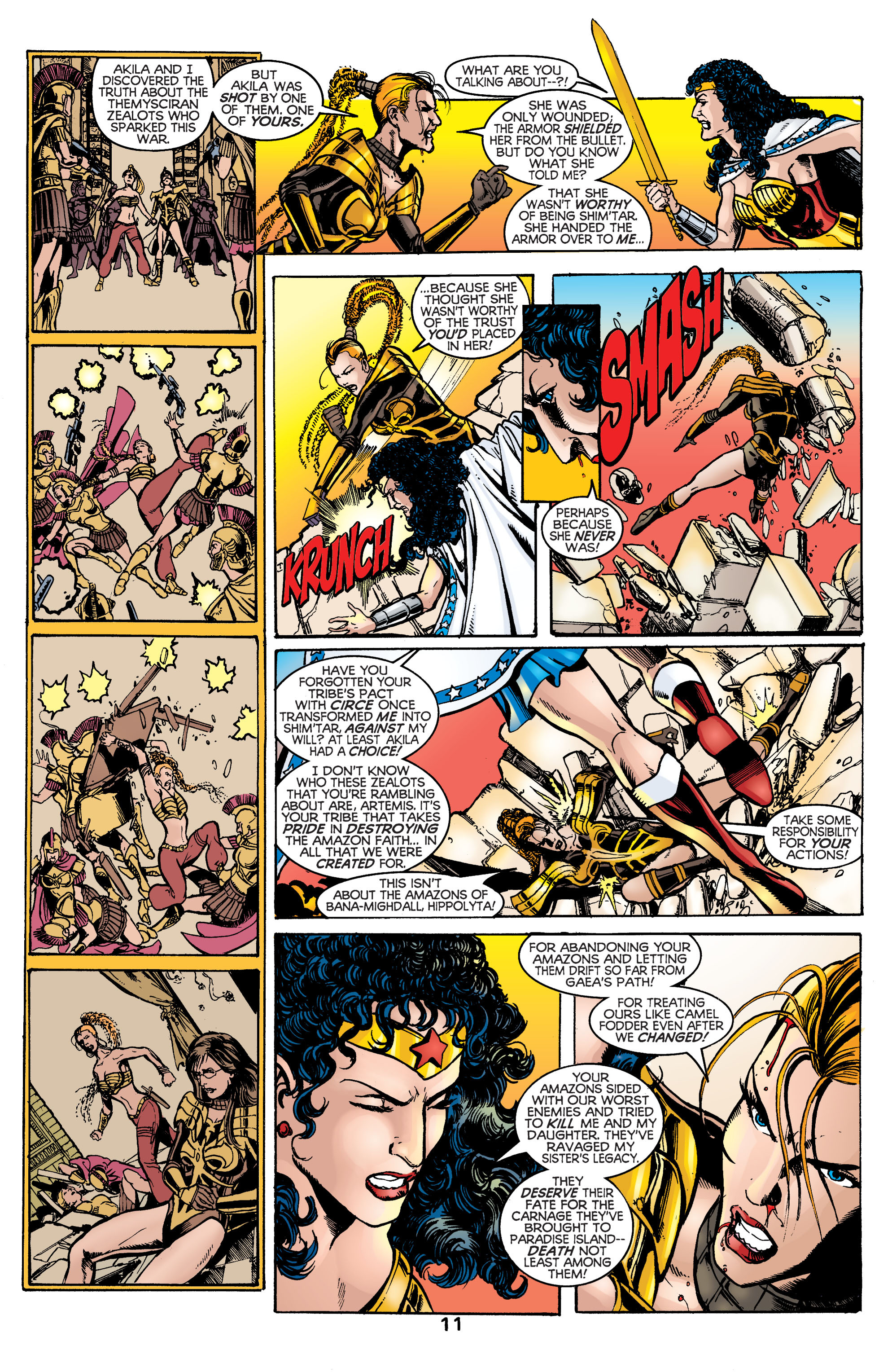 Read online Wonder Woman (1987) comic -  Issue #169 - 12